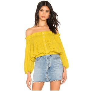 Free People Off Shoulder Top - Brand New